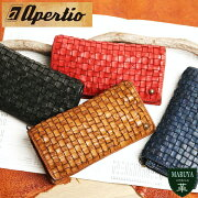 【送料無料】apertioアペルティオ:レザージャケットをイメージ。革らしさをガツンと感じる表情豊かなオイルレザーの長財布/革レザー本革送料無料ウォッシュ加工メンズ