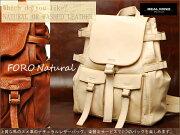 【REALMINDリアルマインド/LILY】FOLONatural/フォロナチュラル馬のヌメ革のナチュラルレザーバッグaf0035n