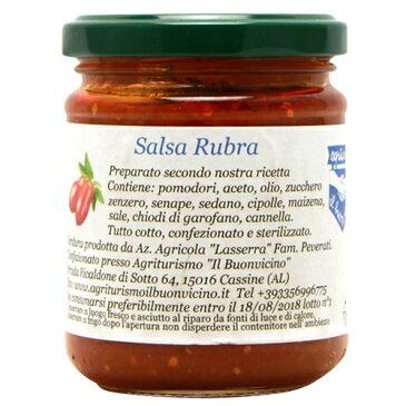サルサ・ルーブラ(ケチャップ)イル・ブォンヴィチーノIl Buonvicino Salsa Rubra