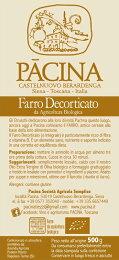 ファッロ(エンマー小麦の玄麦)パーチナPacinaFarro