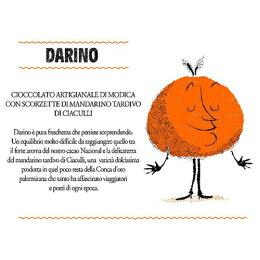 チョッコラート・ディ・モディカ・ダリーノ((チャクッリ産の晩熟マンダリンのピール)サバディCioccolatodiModicaDarinoSabadi