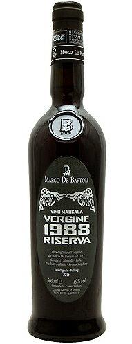 マルサーラ・ヴェルジネ[1988]マルコ・デ・バルトリMarsalaVergine1988MarcodeBartoli