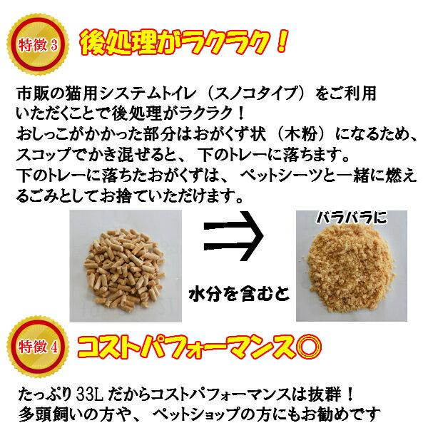 【送料無料】木質ペレット33L(20kg)ホワイトペレットトイレ砂ネコ砂猫砂うさぎペレットストーブ燃料システムトイレスノコトイレ