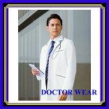 白衣診察衣ドクターウェアー白衣男性KAZENカゼン118-18メンズ診察衣診察衣白衣医療白衣
