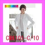 CMA101-C/10KAZENカゼン診察衣白衣AP-RONドクタMA210-CーウェアーメンズAP-RON医療男性ホワイトメディカルウェアシングル白長袖
