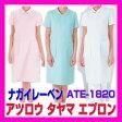 ATE-1820 白衣 ナガイレーベン アツロウタヤマ エプロン 医療白衣 看護白衣 NAGAILEBEN ATE1820