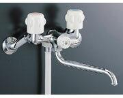 【あす楽】シャワーバス水栓INAXLIXIL・リクシル【BF-651-RU】【BF651RU】2ハンドルの抗菌仕様シンプルです[蛇口][新品]【RCP】