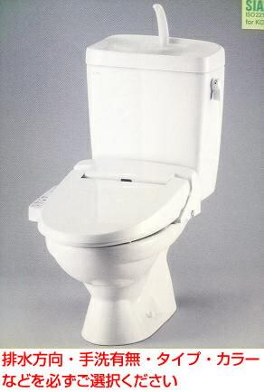 INAX リクシル まるごとお買い得LN便器セット【C-180S+DT-4840+CW-B51】(手洗付・手洗無の選択可能・シャワートイレ付) ピュアホワイト・オフホワイト限定 送料無料