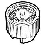 シャープ[SHARP] シャープ加湿空気清浄機用タンクキャップ 【2803120015】[新品]【RCP】