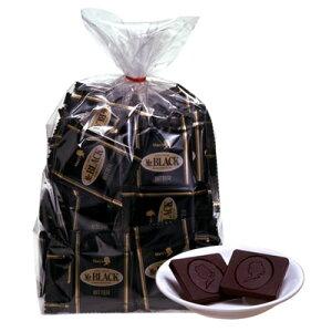 メリーチョコレートfsp2124送料無料ビターチョコレートミスターブラック 1kg(約130〜135個)入...