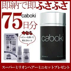 送料無料 【ヘアコンシーラー カボキ】 caboki 増毛 25g 最大70回分使用可能 アメリカで人気NO1...