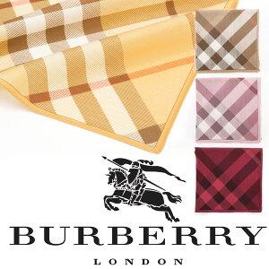 【送料無料】【バーバリー】【BURBERRY】 大判ハンカチ レディース 綿 コットン レディ…