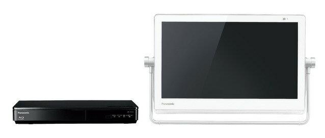 パナソニック ブルーレイディスクプレーヤー/HDDレコーダー付ポータブル地上・BS・110度CS デジタルテレビUN-15TD7-W