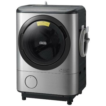日立 ビッグドラム12.0kg ドラム式洗濯乾燥機 BD-NX120CL-S【左開き←】