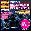 【CREE球使用!!5wヘッドランプ】ヘッドライト