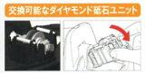 DS50 交換用砥石 ダイヤトイシユニット京セラ 電動ダイヤモンドシャープナー用