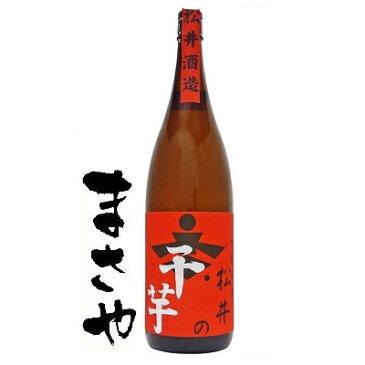 松井酒造 松井の干し芋 赤 25度 1800ml JAN4954621000061