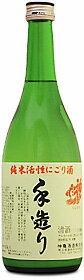 神亀 手造り純米活性にごり酒720ml【楽ギフ_包装】