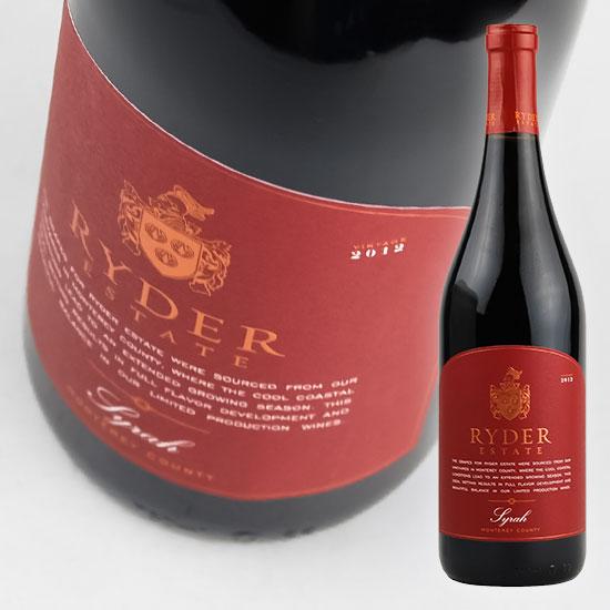 ワイン, 赤ワイン  2016 750ml Ryder Estate Syrah