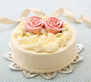 バースデーケーキ・お祝い、記念日に懐かし昭和の味わい『バタークリームケーキ』5号【楽ギフ_...