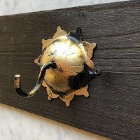 アイアンライオンフェイス壁飾★ドア装飾★ローマ風ウォールデコ★ゴージャス感が凄い!ドアや壁の装飾に