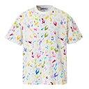 DURAG DEV Manga Camo Shirt ドゥラグ デヴ Tシャツ ビリアイリッシュ着用 メンズ レディス マルチ ホワイト 大阪 アメ村 オンライン 通販 2020AW 00120stes01