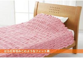 ロマンス小杉ヒートコットンふんわりケットダブル180×200cmHEATCOTTON毛布ブランケットヒートコットンケット綿毛布日本製吸湿発熱素材綿素材でやさしい風合い