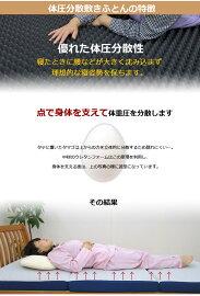 【ムアツふとん】ムアツ布団に匹敵する寝心地【ロマンス小杉】マットレス日本製