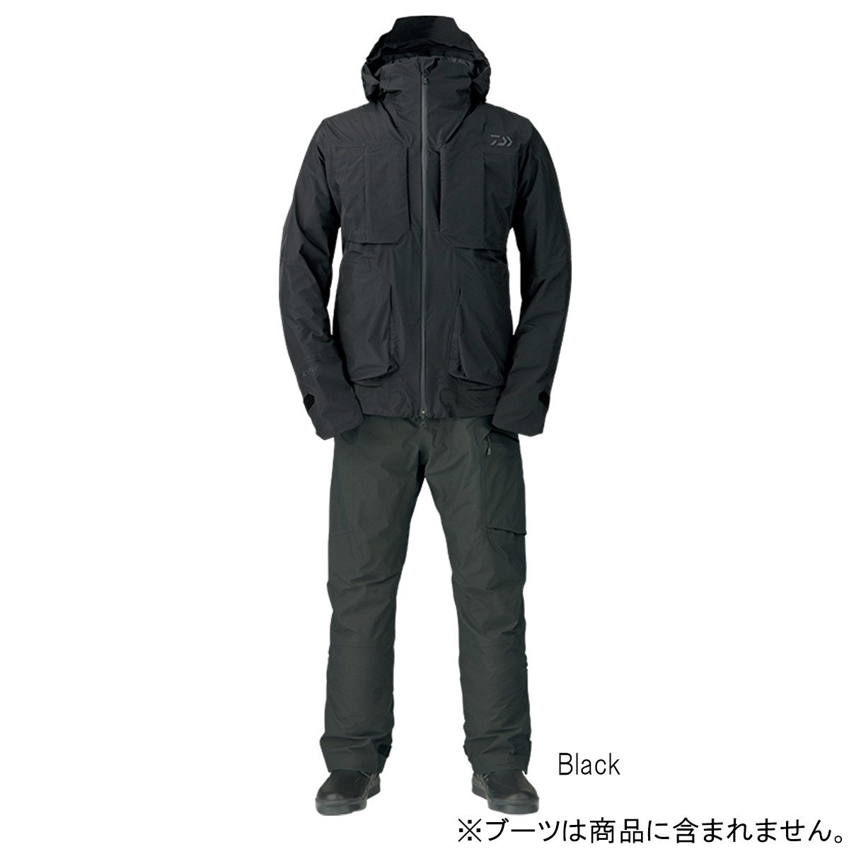 ダイワ ゴアテックス プロダクト ウィンタースーツ DW-1207 XL Black