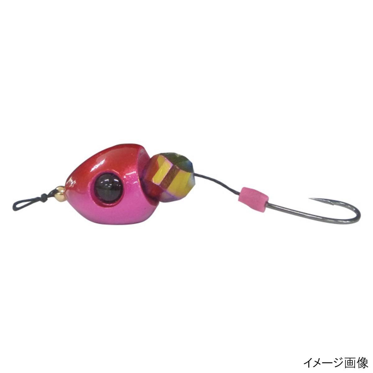 直撃穴撃ちブラクリドロップストライクHE1124号カニオレンジ・エビピンク【ゆうパケット】