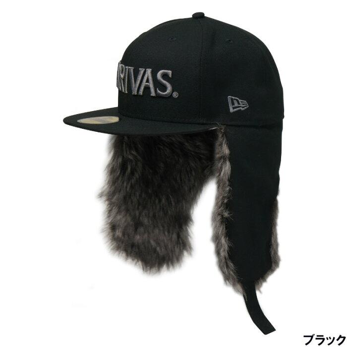 バリバス ニューエラ 59FIFTY Dog Ear 7 1/8 ブラック [VAC-62] モーリス