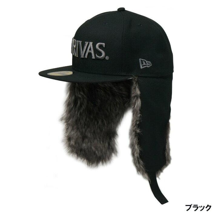 バリバス ニューエラ 59FIFTY Dog Ear 7 3/8 ブラック [VAC-62] モーリス