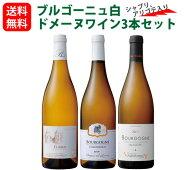 ブルゴーニュおすすめ白ドメーヌワイン3本セット(750mlx3)シャブリアリゴテ入り