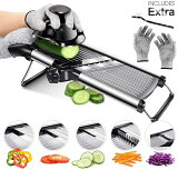 Masthome 野菜スライサー セット 千切り 細切り 野菜カッター みじん切り 薄切り キッチン用品 多機能調理器 調理器セット 野菜カッター スライサー セット