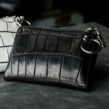 クロコダイル 折財布 二つ折り財布 財布 高級 小さい財布 本革 メンズ レディース ソフトクロコ ブランド セカンドエフォート MIYABIYA プレゼント ギフト 革 レザー 内装ラム革