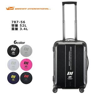 PLUS ONE プラスワン BRANIFF Zip 787-56 56cm/容量:52L/重量:3.4kg