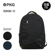 日本総代理店PKG(ピーケージー)DURHAMV2サイズ:H49.5cm×W33cm×D26.7cm/容量:25L