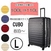 LOJELロジェール大型スーツケース拡張機能CUBO-L