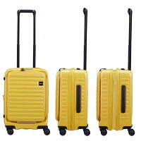 LOJELロジェールフルフロントドアスーツケース拡張機能機内持ち込みスーツケースCUBO-S