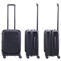 LOJELロジェールフルフロントドアスーツケース拡張機能機内持ち込みスーツケースn-cubo-sメーカー10年間保証付