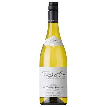 ペイ・ドック ブラン M.シャプティエ750mlPays d'Oc Blanc【フランス】【お値打ちワイン】白辛口