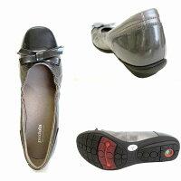 [アシックスペダラ]【履くほどに愛着が湧く、手放せない1足になりそう。】asicspedalaWP577Rレディースリボン付きコンフォートフラットヒール日本製ブラック(90)ガンメタ(96)