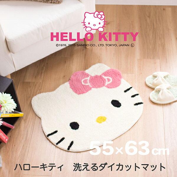 カーペット・マット・畳, カーペット・ラグ  55cm63cm HELLO KITTY