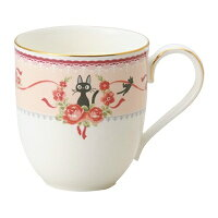 ノリタケ<Noritake>魔女の宅急便マグカップ(ピンク)プレゼントギフト贈リ物祝お祝い記念品食器セット可愛い引き出物引出物内祝いお返し出産内祝い快気祝い