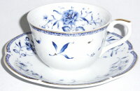 NARUMI(ナルミ)ペレーネブルー【5組セット】コーヒーカップソーサープレゼントギフト贈リ物祝お祝い記念品食器セット可愛い引き出物引出物内祝いお返し出産内祝い快気祝い