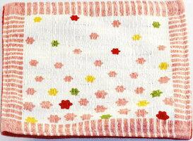 京都くろちく京飴(裏/こんぺいとう)赤和柄綿コースタープレゼントギフト贈リ物祝お祝い記念品