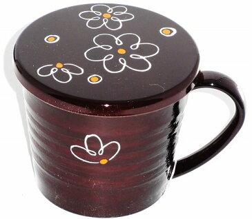会津塗 春慶彩美(花)漆器マグカップ 花柄 プレゼント ギフト 贈リ物 祝 お祝い 記念品