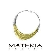 送料無料マテリアデザインイタリア製ブレス「NERO」
