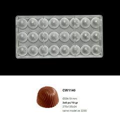 【30%OFF】【チョコレートワールド】CW1140 Φ29x19MM 24P キャップ