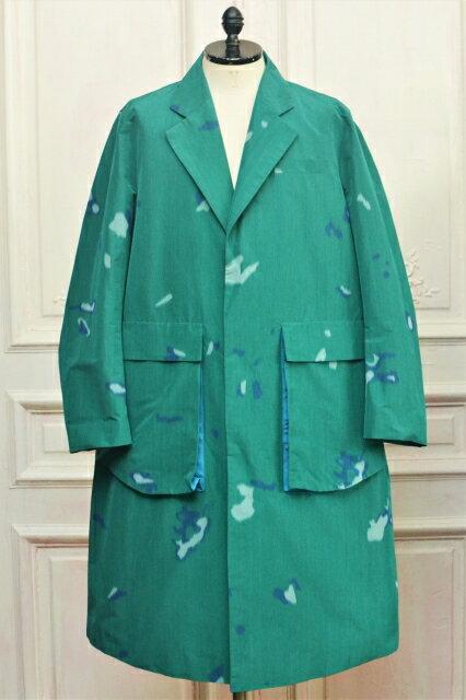 メンズファッション, コート・ジャケット NAMACHEKO Bargey Coat col.Green
